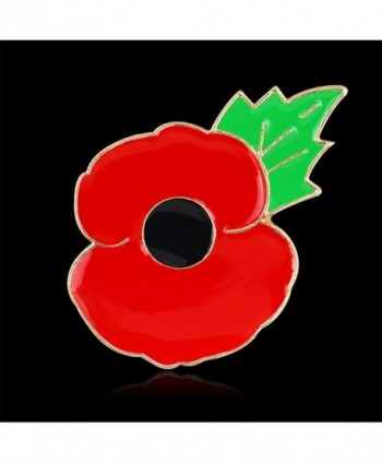 Tiny Susie Remembrance Day Poppy Pin Badge Enamel Brooch - CZ1293JB1UD