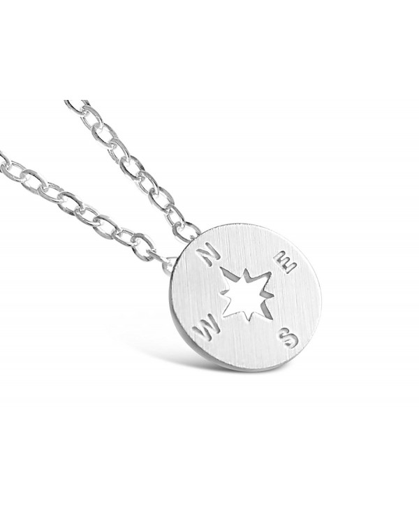 Rosa Vila Compass Necklace - Direction of Life & I'd Be Lost Without You - CC12BM9L053