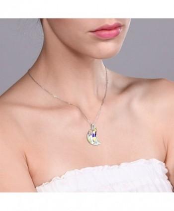 Sterling Boreale Necklace Swarovski Crystals in Women's Pendants