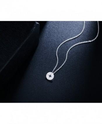 Rosa Vila Compass Necklace Direction in Women's Pendants