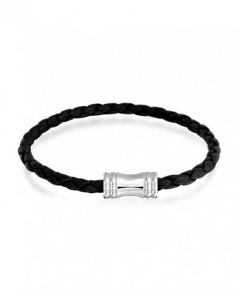 Bling Jewelry Braided Bracelet Magnetic in Women's Cuff Bracelets