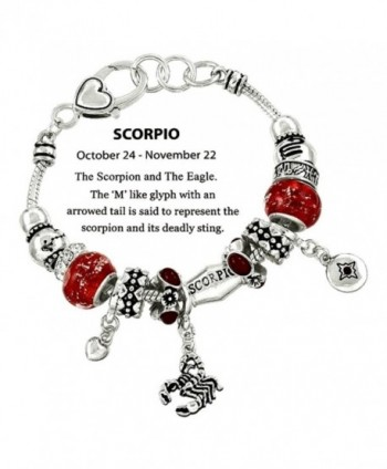 DianaL Boutique Scorpion Horoscope Bracelet