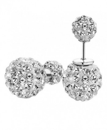 925 Sterling Silver 5mm Green Round Shape Cubic Zirconia Stud Earrings Jewelry - CG126RQ86M1