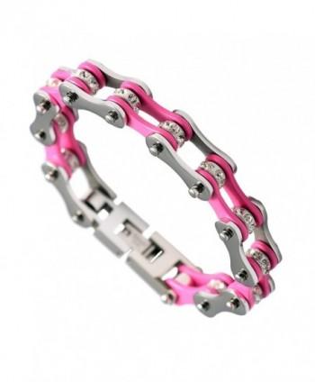 URs Stainless Bracelet Silver Polished