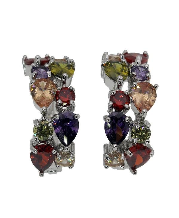 Valentines Day Gifts Gemstones Sets 925 Sterling Silver Peridot Amethyst Garnet Morganite - CC17YSRUQ48