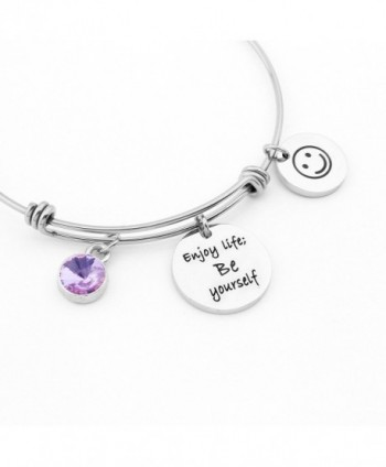 SEIRAA Birthstone Bracelet Yourself Expandable