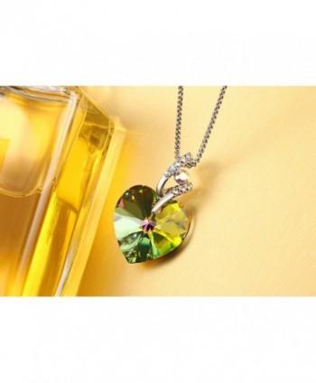 Swarovski Necklace Crystals Birthstone Valentines