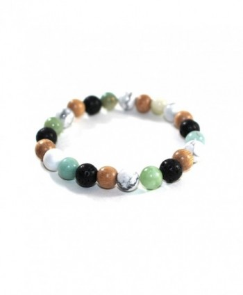 Mana Vibes Essential Bracelet Amazonite in Women's Strand Bracelets