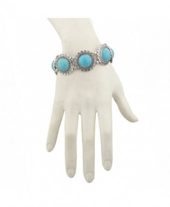 Lux Accessories Burnish Silvertone Bracelet
