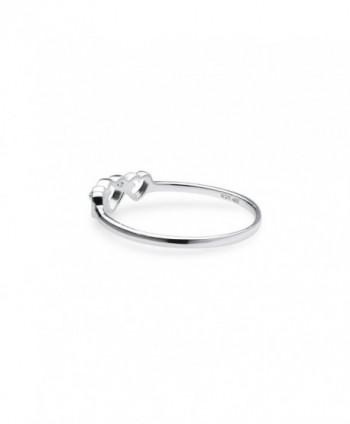 Triple Heart Interlocked Infinity Ring in Women's Wedding & Engagement Rings