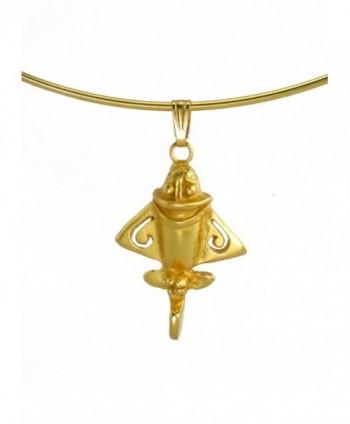 Pre Columbian Golden Jet 3 Choker Necklace