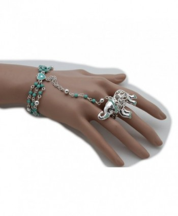 Fashion Jewelry Bracelet Fingers Skeleton in Women's Link Bracelets