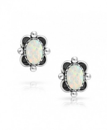 Bling Jewelry Silver Simulated Earrings in Women's Stud Earrings