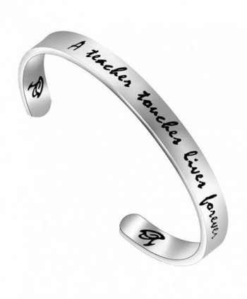 FEELMEM Teachers Bracelet Jewelry Teacher