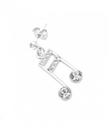 Spinningdaisy Silver Plated Ottava Earrings