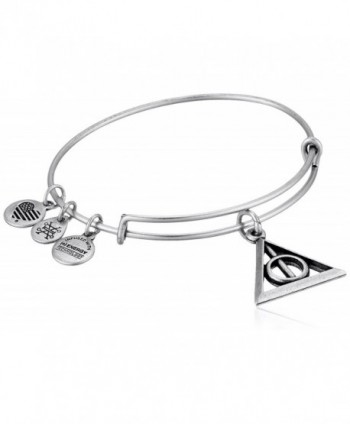 Alex and Ani Deathly Hallows EWB Bangle Bracelet - Rafaelian Silver - CJ185OCD7ZO