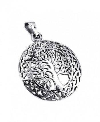Mystic Celtic Sterling Silver Pendant