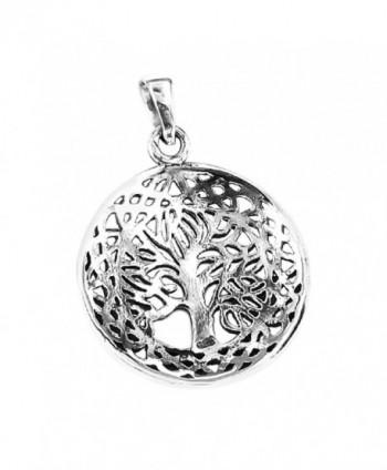 Mystic Celtic Sterling Silver Pendant in Women's Pendants