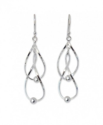 NOVICA .925 Sterling Silver Dangle Earrings- 'Fabulous Infinity Swirl' - CY11G3W0L8H