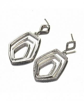 GULICX Crystal Baroque Earrings Zirconia