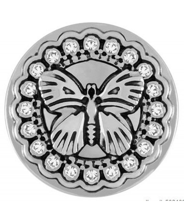 LACE BUTTERFLY SN20-61 (Standard Size) Interchangeable Jewelry Snap  Accessory - CZ12I0FBK57
