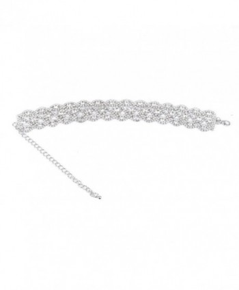 Cyntan Crystal Choker Necklaces Jewelry