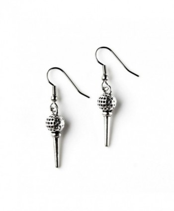 Golf French Loop Earrings - CW11QY5YWIN