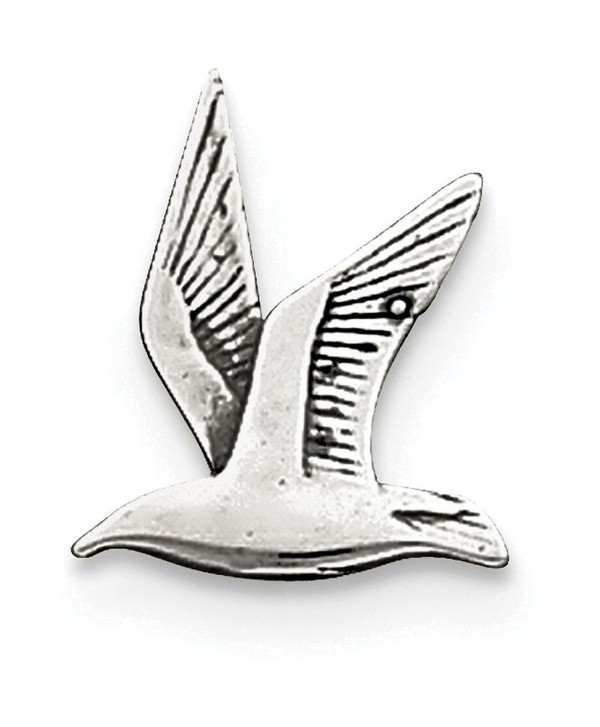Finejewelers Sterling Silver Antiqued Seagull Charm - CL11LRQPOFT
