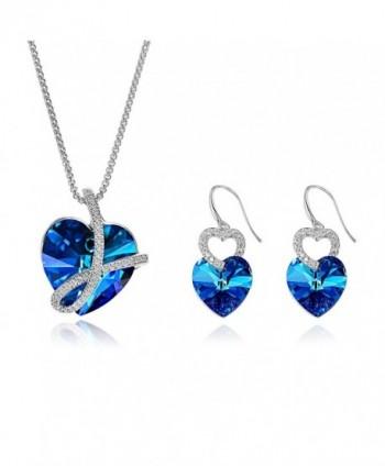 Sapphire Crystals Swarovski Necklace Anniversary - CV189AYK4S0