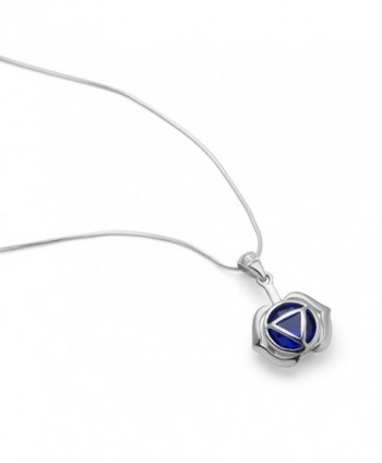 Sterling Silver Kundalini Pendant Necklace