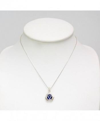 Sterling Silver Kundalini Pendant Necklace in Women's Pendants