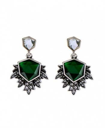 XCFS Zircoinia Irregular Simulated Earrings - C012NUBDK03