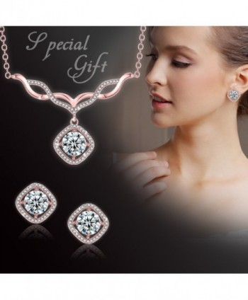 Jewelry V Necklace Earrings Necklaces Christmas in Women's Jewelry Sets