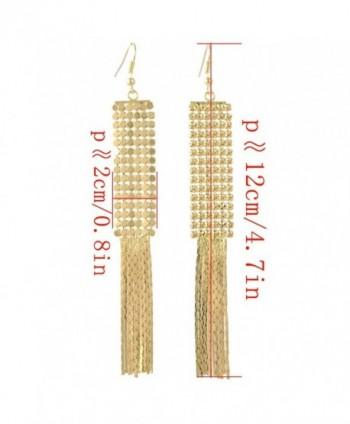Idealway Fashion Generous Sequins Earrings in Women's Drop & Dangle Earrings