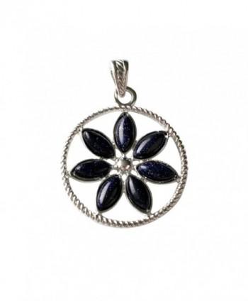 Natural Sandstone Crystal Pendant Nacklace in Women's Pendants