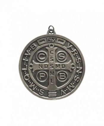 """Saint Benedict Medal 3""""- Medalla de San Benito de 75mm - C311MUE33EV"""