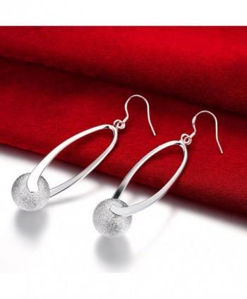 NA BEAUTY Sterling Dangling Earrings in Women's Drop & Dangle Earrings