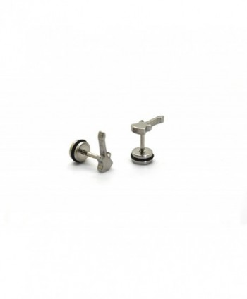 Chelsea Jewelry Collections screw back Stainless in Women's Stud Earrings
