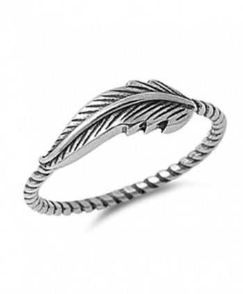 Feather Oxidized Twisted Celtic Sterling