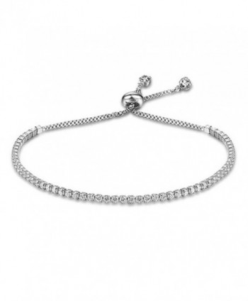 Lanyan Fashion Adjustable Bracelet Jewelry - silver - C61858OQG4H
