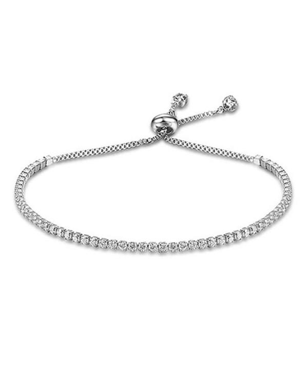 Lanyan Fashion Adjustable Bracelet Jewelry - silver - C61858OQG4H