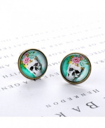 Vintage Jewelry Antique Earrings 02004060 in Women's Stud Earrings
