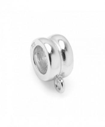 Sterling Pendant Connector European Bracelets