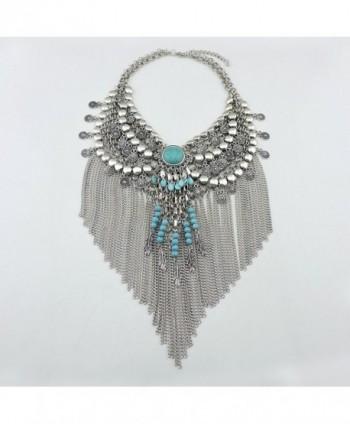 Statement Jewelry Pendant Necklace NK 10053 silver in Women's Pendants