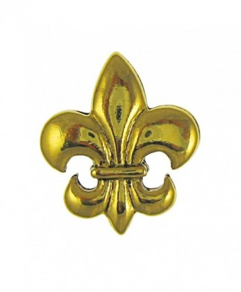 Fleur de Lis Gold Lapel Pin - CV12HHNSOZ7