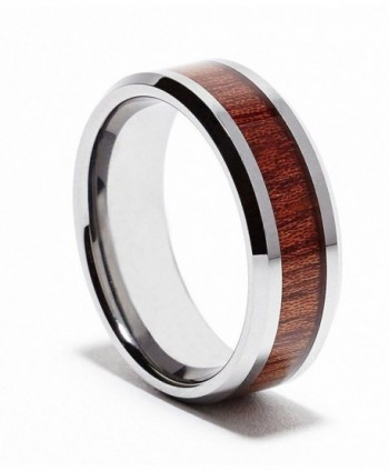 MJ Tungsten Carbide Rosewood Wedding in Women's Wedding & Engagement Rings