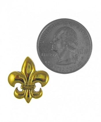 Fleur Lis Gold Lapel Pin