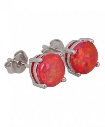 Stunning Fashion Jewelry Brand Designer Jewelry Red Fire Opal Earrings Cute E212 - CC128GZQU5V