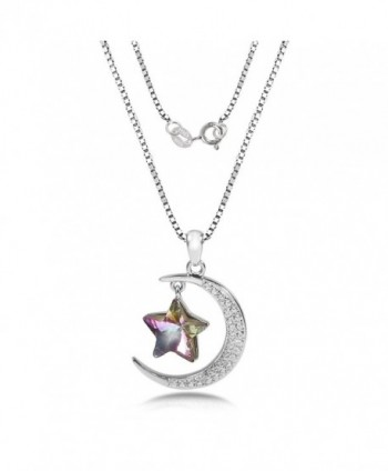 TL Jewelry Sterling Necklace Swarovski