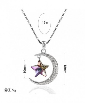 TL Jewelry Sterling Necklace Swarovski in Women's Pendants